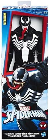 Acci/ón // Aventura Blanco Ni/ño//ni/ña Negro s Hasbro Spider-Man Titan Hero Villains Venom 1pieza Figuras de Juguete para ni/ños Negro, Rojo, Blanco, 4 a/ño 1 Pieza s s Rojo Ni/ño//ni/ña 300 mm