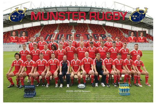Munster Rugby - Team - 61x91.5cm