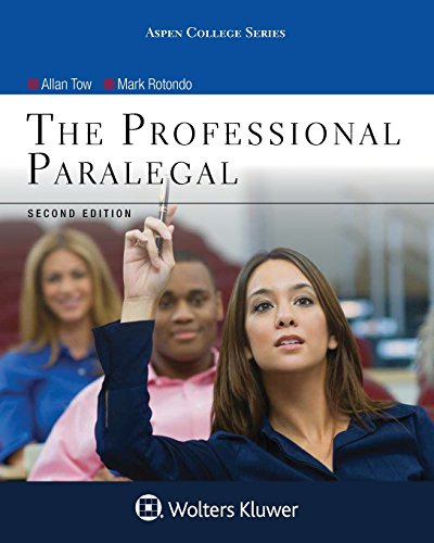 The Professional Paralegal (Aspen College Series)