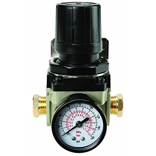 125 PSI Air Flow Regulator with Gauge