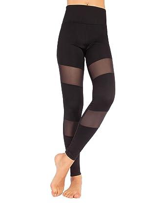 27d0aed3c6c5 CALZITALY Leggings de Sport Femme