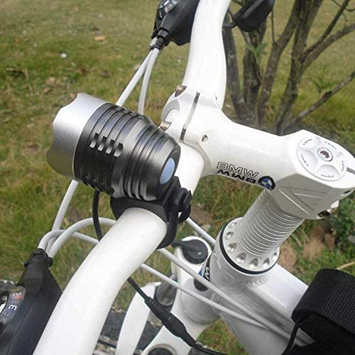 TAOZYY Luz Bicicleta Recargable USB Linterna Bicicleta Impermeable con Luz Bicicleta MTB L/ámpara Delantera Faros Aluminio Linterna Ultraligera Luz de Bicicleta