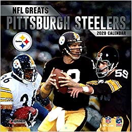 Steelers 2020 Schedule.Nfl Greats Pittsburgh Steelers 2020 Calendar Inc Lang