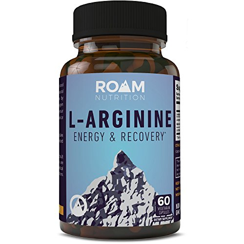 Nitric Oxide Supplements - L-Arginine : L-Citrulline Malate Dietary Pills for Muscle Growth, Libido Enhancement, Fat Loss, Stamina and Energy Boost, and Heart Support - Roam - 60 (Testosterone Nitric Oxide)