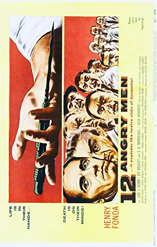 12 Angry Men  Movie Poster 24x36