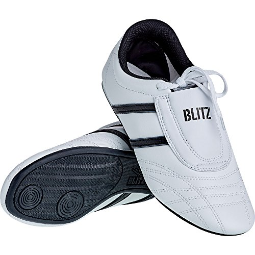 Blitz Adult Martial Arts Training Shoes - White / Black 7B1c2Y