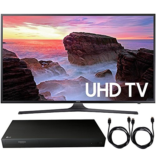 Samsung UN55MU6300 55' 4K Ultra HD Smart LED...
