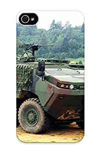 Durable Protector Case Cover With 2010 Otokar Arma 6x6 Military Weapon Weapons Hot Design For Iphone 4/4s (ideal Gift For Lovers)