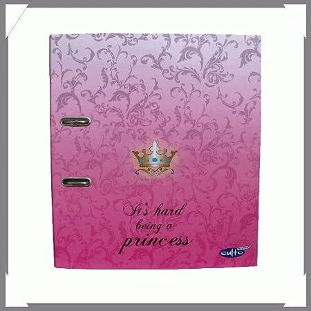 Diseño de anillo de carcasa rígida con arnés de princesa con texto ...