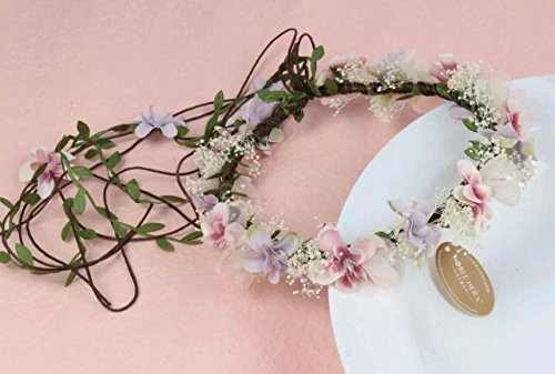 Floral Fall BOHO Flower Crown Hair Wreath Headband S19