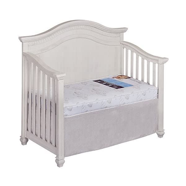 Dream On Me Spring Crib and Toddler Bed Mattress, Twilight 6