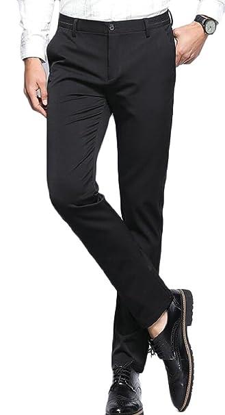 3879a4465f Yayu - Pantalones de Vestir para Hombre
