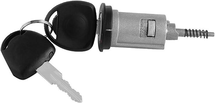 Set di barilotti di blocco accensione con chiave kit di sostituzione chiavi di ricambio per auto professionale Keenso con kit interruttore a 2 chiavi