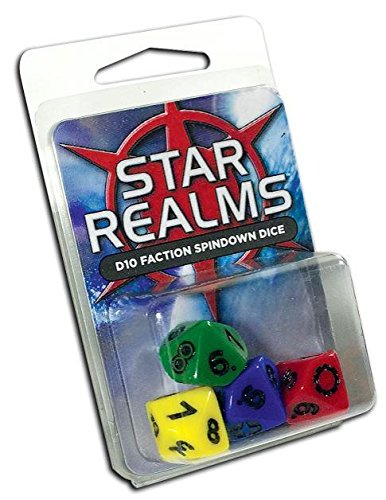 Star Realms D10 Faction Spindown Dice - Faction Dice