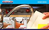 INSTANT-OFF Home 500 America's #1 Water Saver for KITCHEN faucets. Automatically Shuts Off Water. Push Rod for Water- Release Rod Water Stops,On-Off Only,Reduces Spread of Germs,Stops Drips