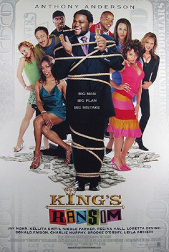 King's Ransom Double-Sided Regular 27x40 Original Movie Poster