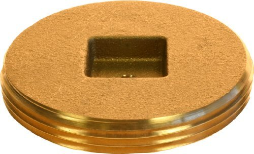 Plumber's Choice 90362 2-1/2-Inch Countersunk Square Cleanout Plug (10-Pack)
