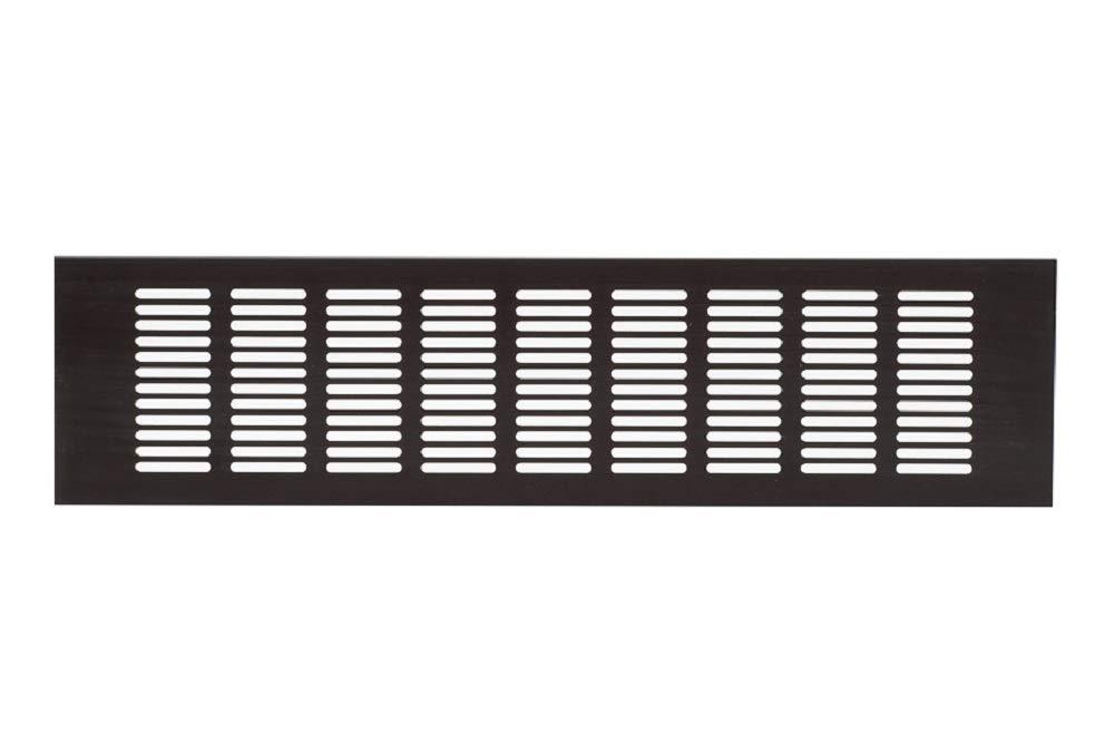 de aluminio Rejilla rejilla Muebles rejilla ventilaci/ón ra1040b Rejilla de ventilaci/ón Bronce Aluminio 100/x 400/mm ventilaci/ón