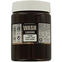 Vallejo-3073300 Wash Sepia, (3073300)