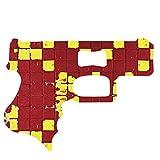 Tiles Yellow and Red Gun Bottle Opener