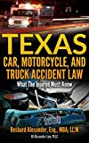 Texas Car, Motorcycle, and Truck Accident Law: What The Injured Must Know