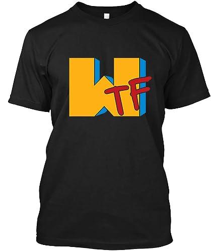 f056b441314 Amazon.com: WTF MTV t shirt 96 T-Shirt for Men Women: Handmade