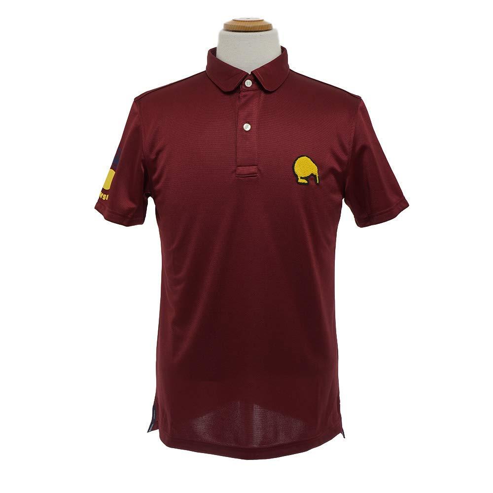 半袖ポロシャツ メンズ エディットオブキウィ edit of KIWI 2018年 ゴルフウェア 83ek5sp03100m M(M) ワインレッド(C089) B07FPDHCS1
