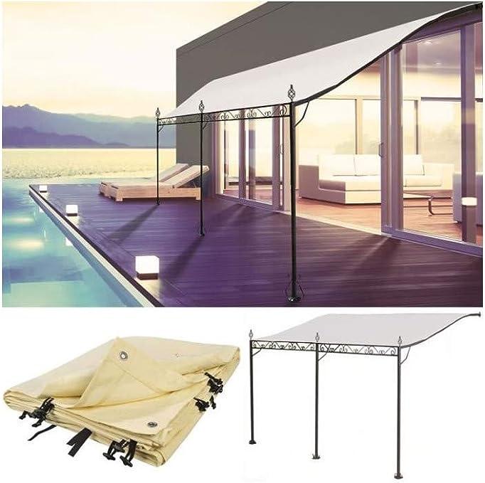 ProBache - Pérgola adosada para terraza (3 x 4 m)
