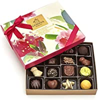 Godiva Chocolatier Assorted Gourmet Chocolate Spring Gift Box, 16 pc., Great for Mother's Day