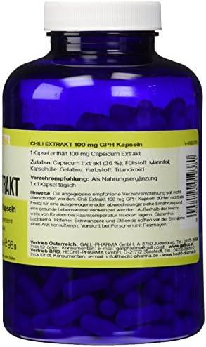 Gall Pharma Chili extrakt 100 mg GPH Kapseln, 1er Pack (1 x 90 Stück)