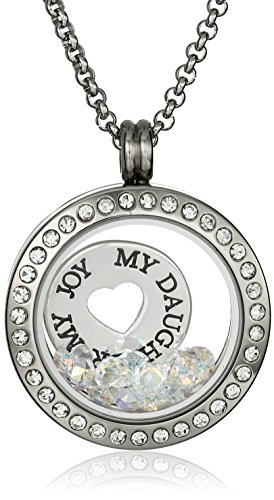 Charmed Swarovski Daughter Floating Necklace