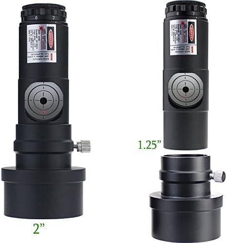Solomark 7 Helle Level 2inch und 1.25inch Teleskop Laser Kollimator/Justierokular für Newton Teleskope) Brand Name: Solomark