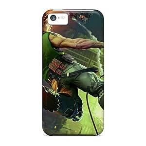 For USMuB4435WolQn Bionic Commando 3 Protective Case Cover Skin/iphone 5c Case Cover