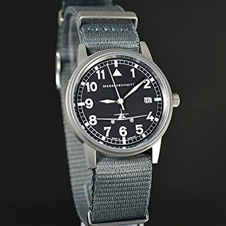 Messerschmitt Me Nato Fliegeruhr By S Ronda Aristo 262 Armband fgvY76by
