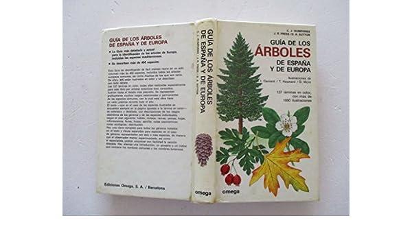 GUIA ARBOLES ESPAÑA Y EUROPA (FUERA DE CATALOGO): Amazon.es ...