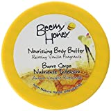 BeeMy Honey Nourishing Body Butter, Relaxing Vanilla Fragrance - Moisturizing and Revitalizing Honey Restores and Softens Skin - 95.7% Natural Origin, Made in Italy - Dermatologist Tested, 6.76 oz.
