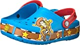 crocs Unisex- kids CB FL woody Light  Clog K , Ocean, 6 M US Toddler