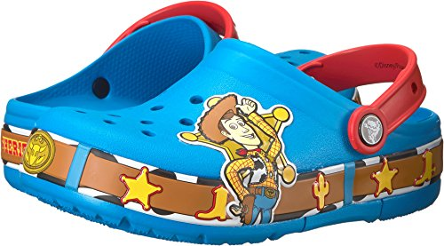 Crocs Unisex-Kids CB FL Lights K Clog, Ocean, 12 M US Little Kid by Crocs (Image #3)