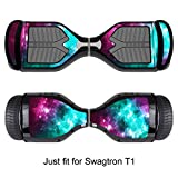 Sticker for Hover Board - Skin for Self-Balancing Electric Scooter - Decal for Self Balance Mobility Longboard - Smart Protective Cover...