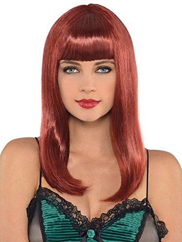 AMSCAN Classic Beauty Long Wig Halloween Costume Accessories,