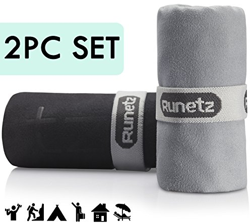 Runetz MICROFIBER TOWELS Absorbent Drying