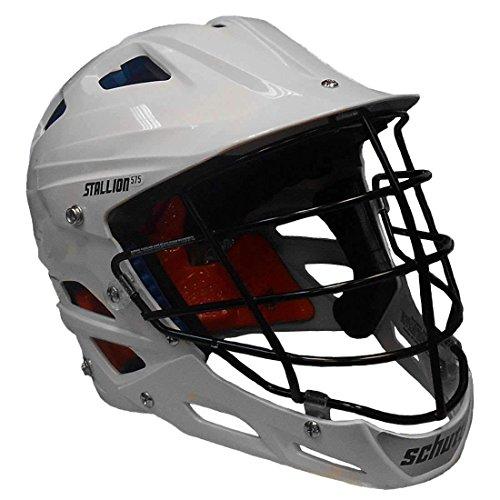 STX Stallion 575 Adult Lacrosse Helmet (White, Large)
