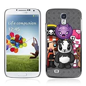 YOYOSHOP [Funny Cute Creatures Panda] Samsung Galaxy S4 Case