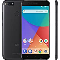 Smartphone Xiaomi Mi A1 dual Android one 7.1 Tela 5.5 64GB Camera dupla 12MP bateria 3080mah Rom Global - Preto