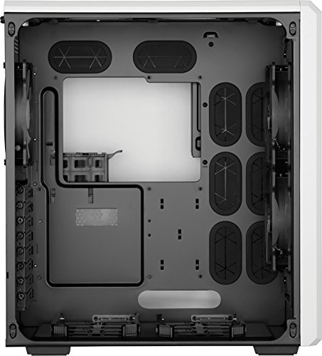 Corsair Carbide Series Air 540 Windowed ATX High Airflow Cube Performance Computer Case with White LED Fan - Arctic White by Corsair (Image #7)