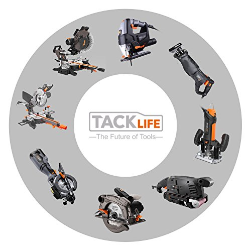 Mouse Detail Sander with 12Pcs Sanderpaper, Tacklife 12000 OPM Sander with Dust Collection System for Tight Spaces Sanding in Home Decoration, DIY - PMS01A by TACKLIFE (Image #8)