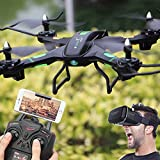 New HD Camera Drone Quadcopter Wifi FPV 2.4G 6Axle Quadcopter Gyro Headless Mod