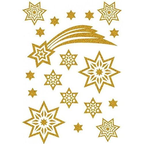 Lovely Herma Autocollant De Noel Magic étoile étoile