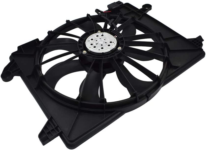 labwork Radiator Cooling Fan Assembly fit for 11-18 Dodge 09-18 Charger Chrysler 300 CH3115169 68050129AA CH3115169 622550 621-526