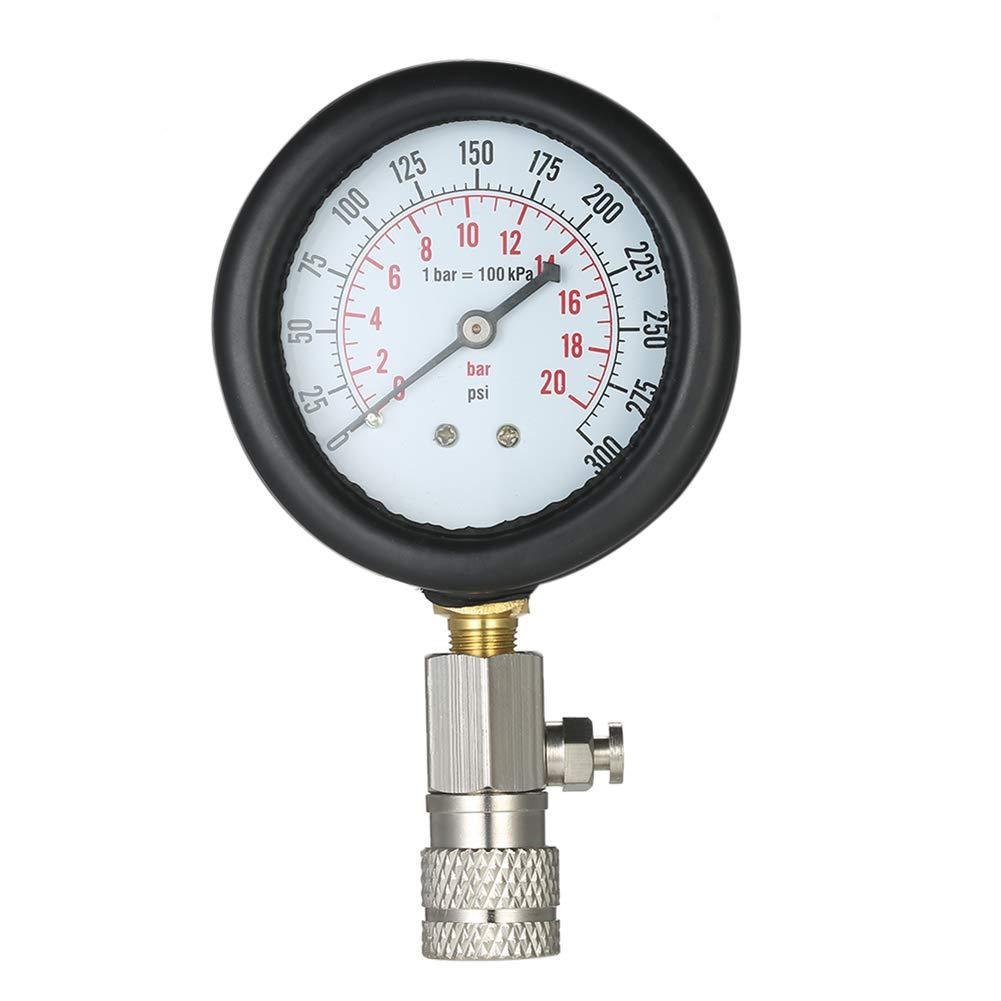 Detector de Fugas de compresi/ón de Cilindro de Coche probador de Motor de Gasolina con Caja kaakaeu Kit de comprobador de compresi/ón de Gasolina para veh/ículo